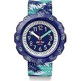 Flik Flak Unisex Kinder Analog Quarz Uhr mit Kunststoff Armband FPSP041
