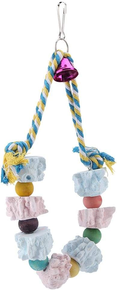 Bird Chew Toy Inexpensive Colorful Block Break Toys Long-awaited Sto Grinding Parrot