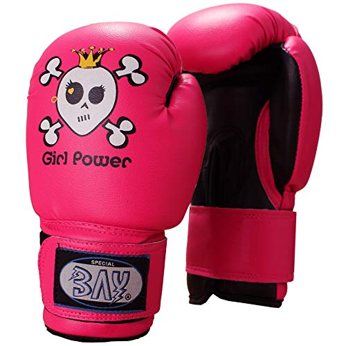 BAY® Girl Power (4 Unzen) pink posa Kinder Boxhandschuhe (4 Unzen)