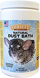 Sunseed Natural Dust Bath for Chinchillas, 30 Ounce Container