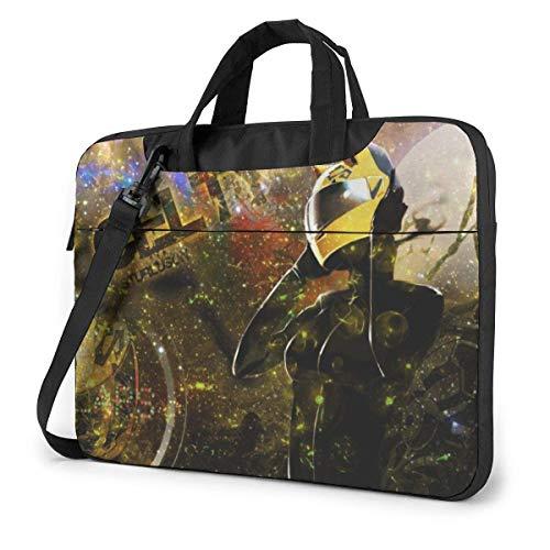 15.6″Lightweight Laptop Notebook Shoulder Backpack Bag Durarara(6) Waterproof PC Briefcase Messenger with Strap