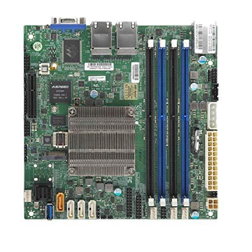 Supermicro A2SDI-4C-HLN4F Mini ITX - Motherboards (DDR4-SDRAM, DIMM, 1600,1866,2133,2400 MHz, 1.2 V, 2133 MHz, 2133 MHz)