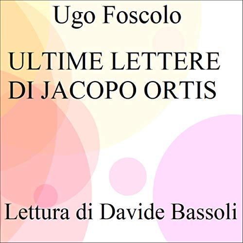 Ultime lettere di Jacopo Ortis copertina