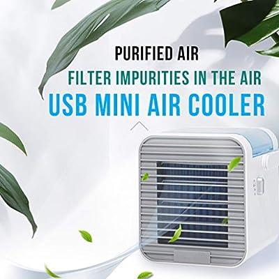 Tower Fan, Personal Air Cooler Mini Portable Ai...