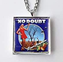 Album Cover Art Necklace No Doubt Tragic Kingdom