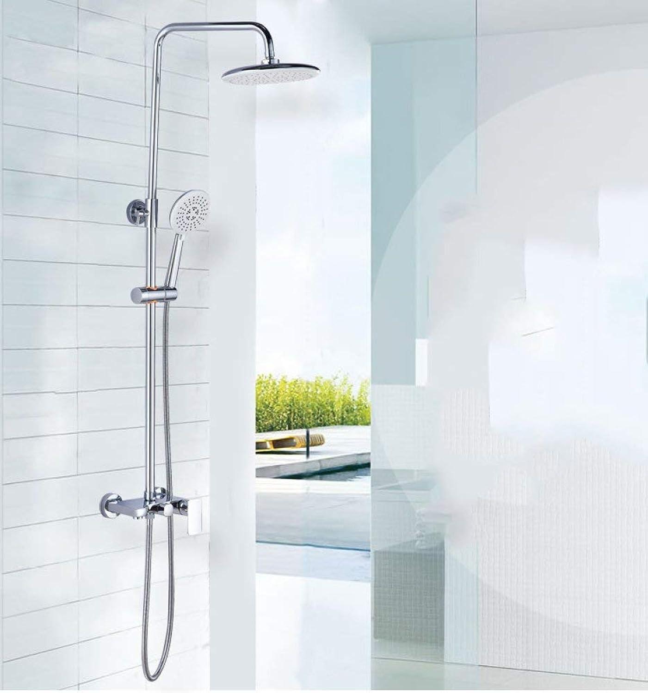 Badezimmer mit Dusche an der Wand montierten Nehmen eine Dusche Aufzug Dusche set Backen malen Flache Dusche heben knnen Badezimmer Regenwald Dusche