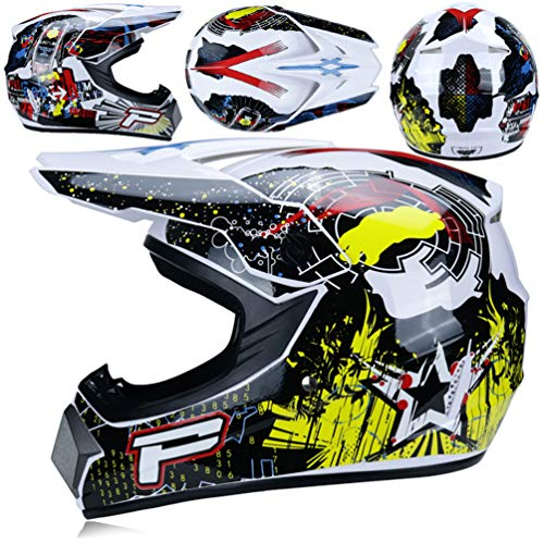 Qianliuk Top ABS Motobiker Casco Moto Racing Casco Off-Road