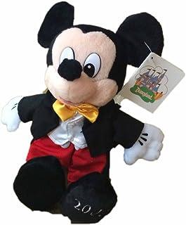 Park Costume Mickey Mouse Bean Bag Plush by Disney