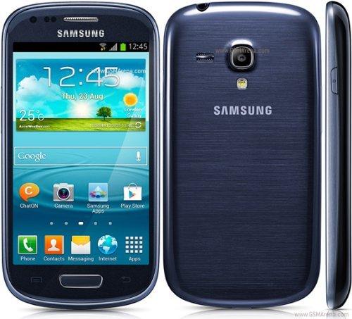 Samsung Galaxy S3 mini - Smartphone-Movistar Libero Android (schermo da 4 ', fotocamera da 5 MP, 8 GB, dual-core da 1 GHz, 1 GB di RAM), Blu
