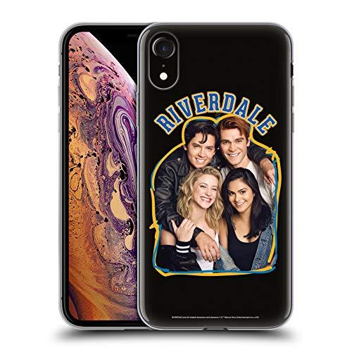 Official Riverdale Riverdale Cast 2 Art Soft Gel Case Compatible for Apple iPhone XR
