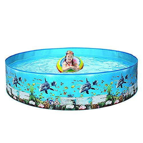 TTYUIO Hartplastik Pool Nach Hause Außenpool Kinder Eltern-Kind Frei Aufblasbare Verdickung 3-6 Jahre Altes Planschbecken