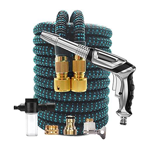 """Tuinslang Hogedrukreiniger Auto Wassen Schuim Pot Water Flexibele Expandable Tuinslang Watering Plastic Schoonmaak Tool (Color : R09, Diameter : 1/2"""")"""