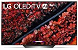 LG OLED77C9PUB Alexa Built-in C9 Series 77' 4K Ultra HD Smart OLED TV (2019), 77-Inch