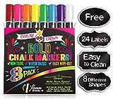 Best Blackboard Markers - Liquid Chalk Markers for Blackboards - Bold Color Review
