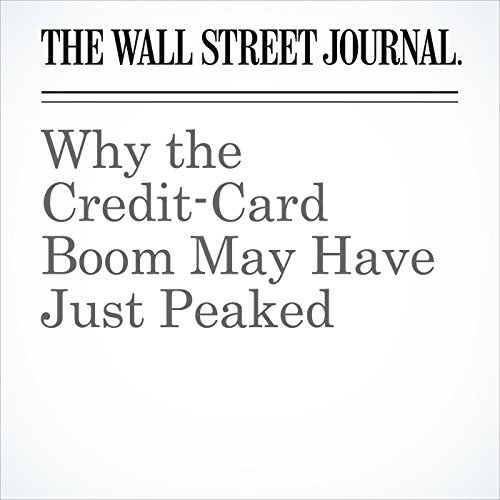 Why the Credit-Card Boom May Have Just Peaked copertina