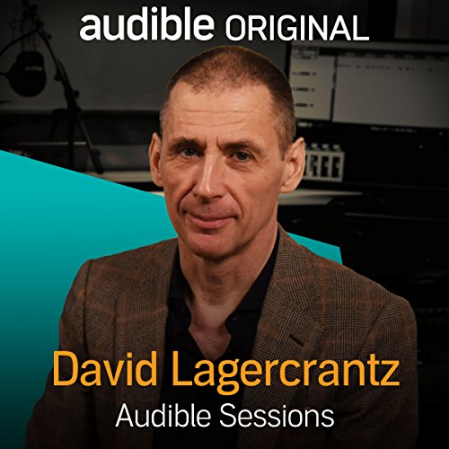 David Lagercrantz audiobook cover art