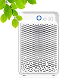 1000ml portable dehumidifier, ultra-quiet low power consumption dehumidifier, auto shut off function, for home, bedroom, basement, office