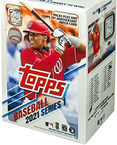Topps 2021 Series 1 Baseball Blaster Box product image