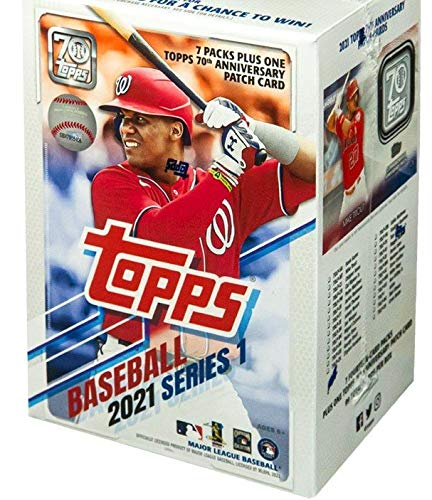 Topps 2021 Series 1 Baseball Blaster Box