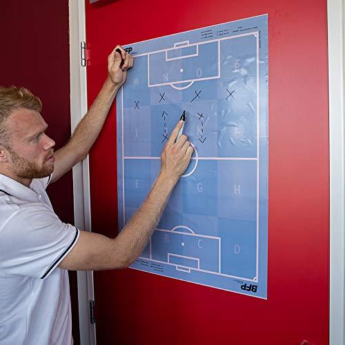 bfp Taktikfolie Fußball   selbsthaftend   25 Folien CHEFPLANER   60 x 80cm