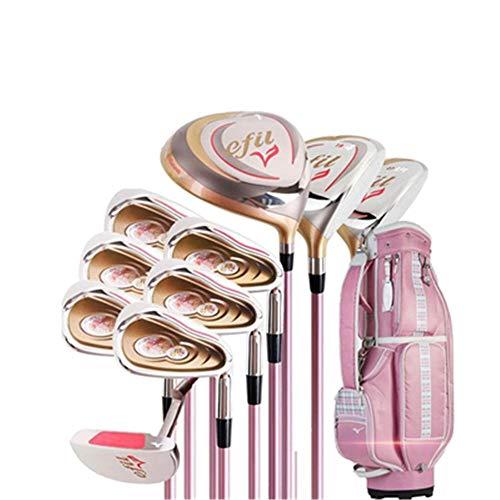 El juego de palos de golf para damas derechas para damas de