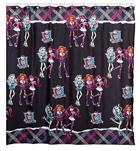 Kids Warehouse Monster High Duschvorhang Ghouls