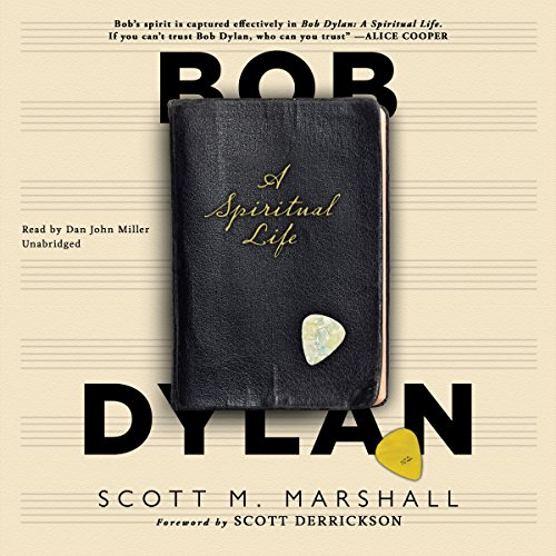 Bob Dylan audiobook cover art