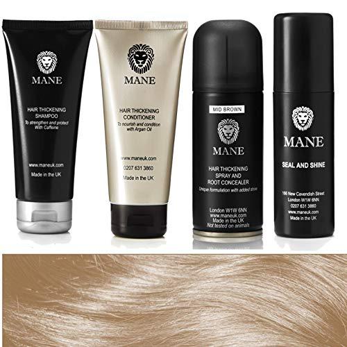Mane Hair Thickener Travel Pack 100 ml - Medium Brown