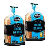 Rye Bread | Delicious Sandwich Bread | Fresh Bread | Real Jewish Rye Bread | Kosher, Dairy & Nut Free | 2-3 Day Shipping | 16 oz Stern's Bakery [ 2 Pack ]