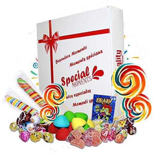 Pack de Chuches Special Moments, Surtido de Golosinas Variadas. Caja Ideal para Regalo.