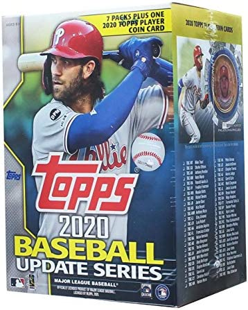 2020 Topps Update Blaster Box 7 Packs 14 Cards 1 Coin Card product image