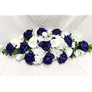 27″ Swag Fake Wedding Silk Artificial Flowers