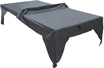 210D Polyester Oxford Black Weatherproof Durable Ping Pong Table Cover Table Tennis Table Cover Outdoor Waterproof