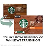 Starbucks Medium Roast K-Cup Coffee Pods — Caramel for Keurig Brewers — 6 boxes (60 pods total) 17 FLAVOR AND ROAST: A lighter, gentler take on the Starbucks roast, Starbucks Veranda Blend is flavorful without being overly bold PACKAGING CHANGE: We are currently updating our packaging look. You may receive either package for a limited time FOR KEURIG BREWERS: Starbucks K-Cup pods are designed for use with the Keurig Single Cup Brewing System