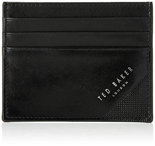 TED BAKER LONDON Rifle, Accesorio de Viaje-Portatarjetas Tipo sobre para Hombre, Black, Talla única