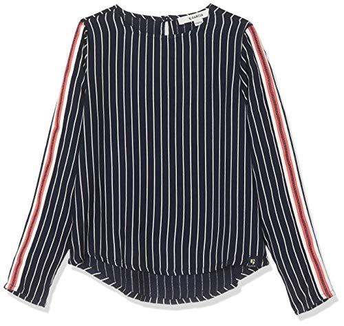 Garcia Kids Mädchen I92434 Bluse, Mehrfarbig (Dark Moon 292), 140 (Herstellergröße: 140/146)