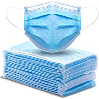 50-Pack Athphy 3-Layer Disposable Face Mask