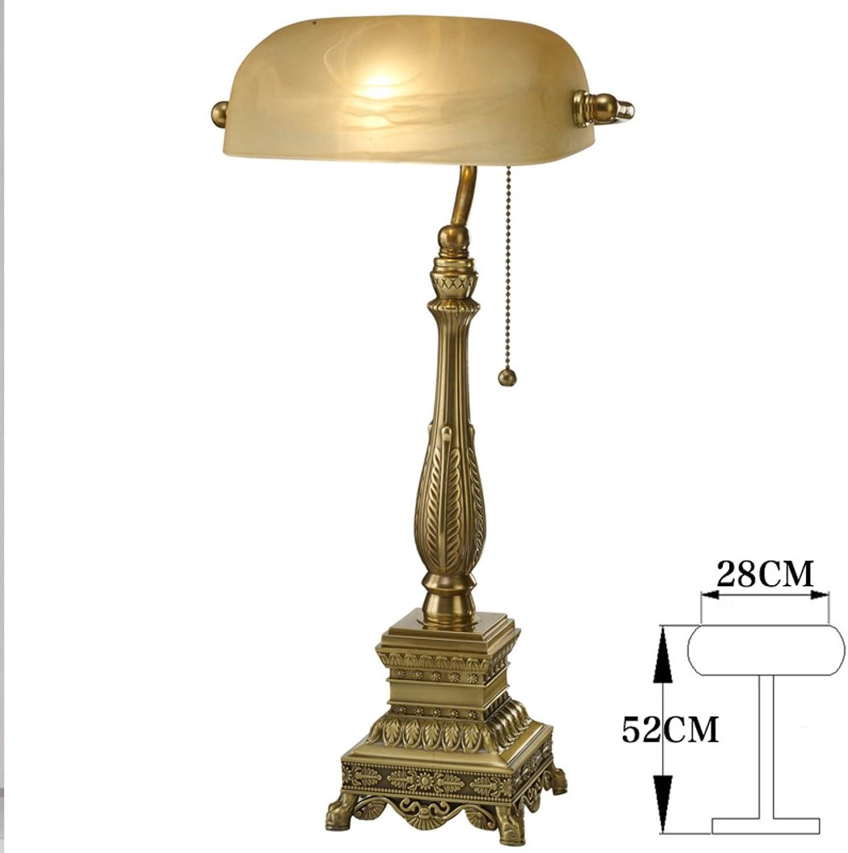 Moderne Moderne Moderne Einfache Tischleuchte Voll-messing Lampe Klassischen Lamp Schlafzimmer Bett Lampe-E B071VNQWJJ | Up-to-date-styling  b99e32