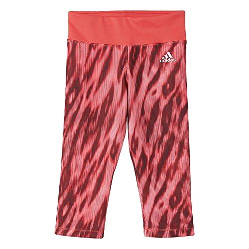 adidas YG TF P 34 strakke broek voor meisjes, roze (Rosbas), 158