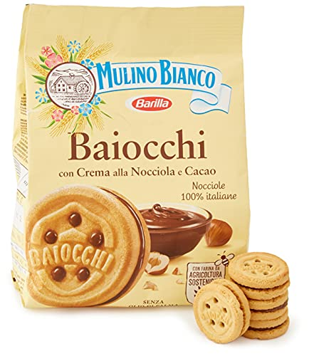 Mulino Bianco Baiocchi Nocciola, 10er Pack (10 x 260g)
