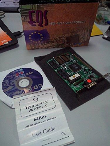 EQS S3 TRIO3D/LC2X 4MB SGRAM 2X AGP CARD - Tarjeta