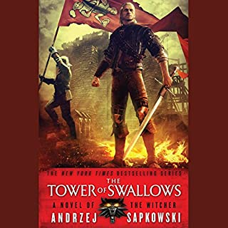 The Tower of Swallows                   Written by:                                                                                                                                 Andrzej Sapkowski                               Narrated by:                                                                                                                                 Peter Kenny                      Length: 16 hrs and 25 mins     78 ratings     Overall 4.8