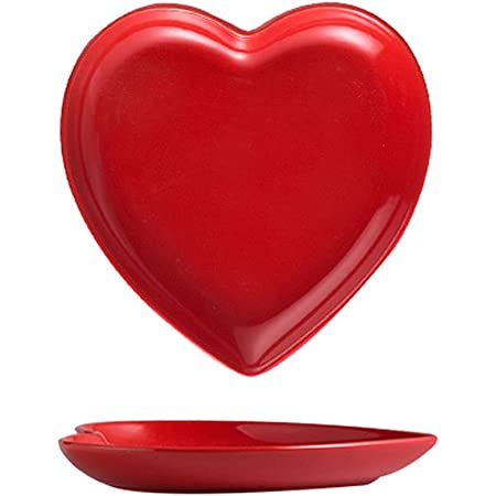 Adorable Ceramic Pottery Heart Plates from Grammy/'s Divine Designs Series