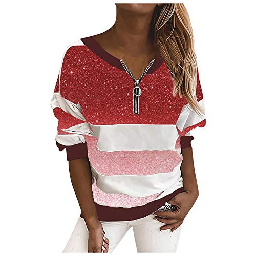 BaZhaHei Damen Herbst Winter Langarm Täglich Bedrucktes Sweatshirt mit Kapuze Shirt Bluse Teenager Mädchen Bauchfrei Kapuzenpullover Pullover Kapuzenjacke mit Kordel