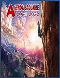 Agenda Scolaire 2021-2022: Agenda Scolaire ZELDA 2021 2022 de journal de calendrier de planification hebdomadaire,1 jour par page,Organiseur Scolaire ... garçons,les adolescents,les adultes
