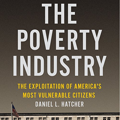 The Poverty Industry audiobook cover art