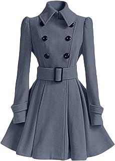 Manteau redingote femme chic
