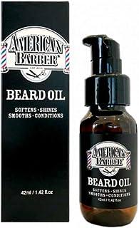 New AMERICAN BARBER Beard Oil 42ml Softener Shine Smoothing Conditioner