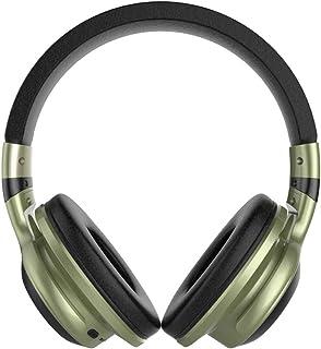 LED Light Wireless BT Headphones Over-Ear Earphone Foldable Stereo Mic Headset Support TF Card FM Audio Jack