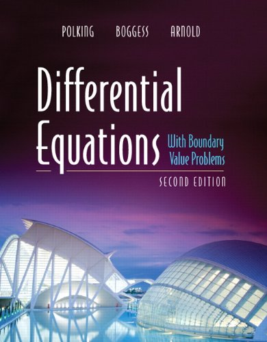 Differential Equations with Boundary Value Problems (2-download) (Pearson Modern Classics for Advanced Mathematics...